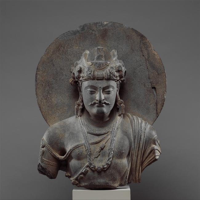 菩萨残躯,3—4世纪,大都会博物馆