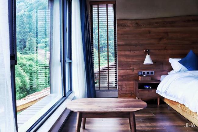 嵐境•不念是一家融合了武夷山當地風格的民宿