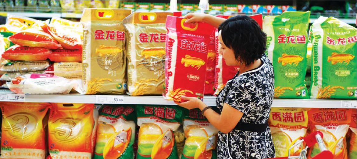 消耗者在选购好海嘉里产品