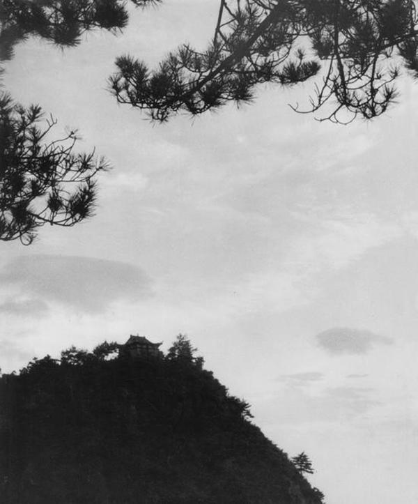 李进,《庐山仙人洞》,1961年