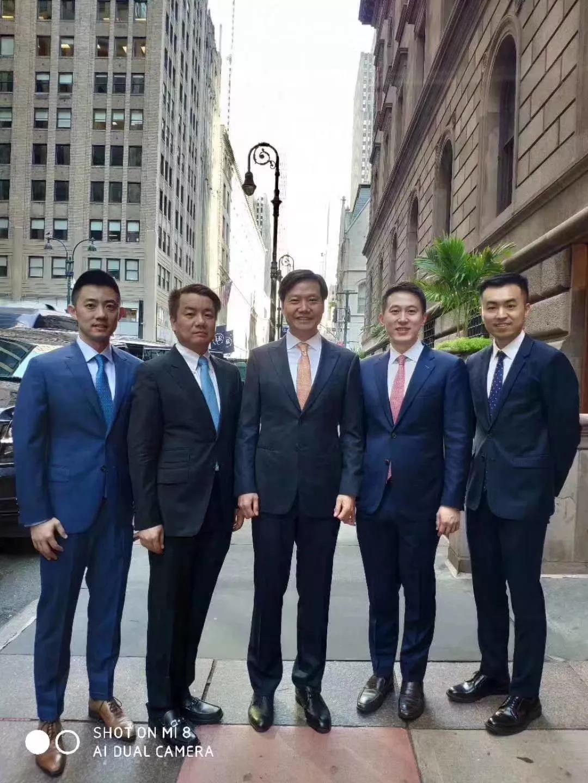 小米上市路演团队在纽约