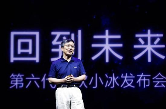 微軟全球執行副總裁沈向洋。