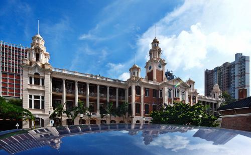 香港大學校園一角。來源:新華社
