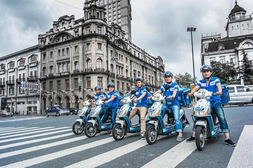圖說:餓了麽平臺在上海日交易額突破1億元,新零售新消費增長迅速