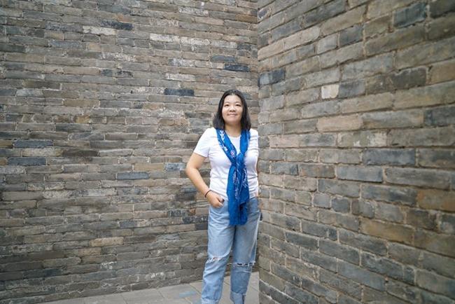 上海阮儀三城市遺產保護基金會秘書長丁楓。攝影/戴茜