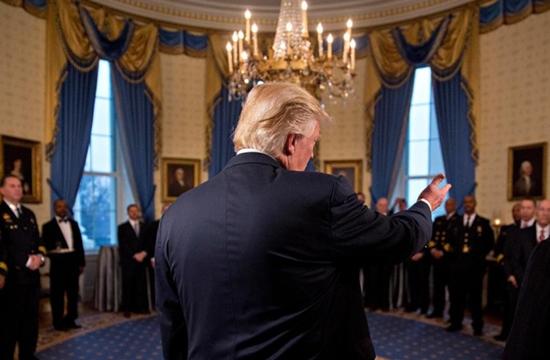 自上而下是特朗普白宮的作風,在貿易政策上體現得淋漓盡致。來源:視覺中國