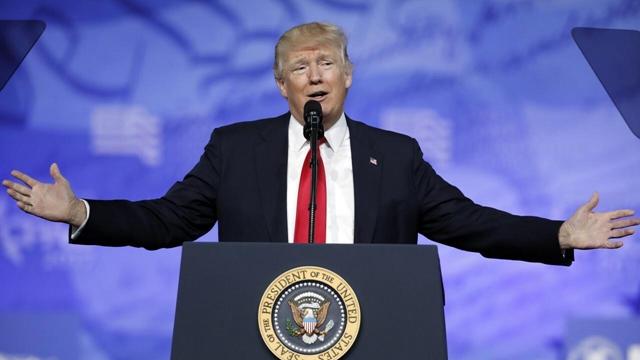 美国总统特朗普在中美关系上态度多变