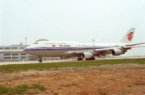1997年6月29日,一架波音747大型客機準備在南京祿口機場起飛,南京祿口機場正式通航。