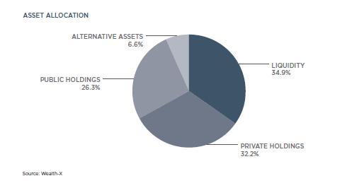 澳门银河国际网站超高净值人士投资偏好。资料来源:Wealth X