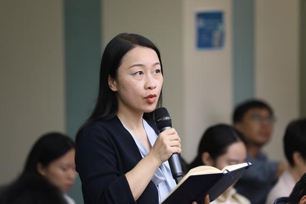 第一财经记者在商务部例行发布会上提问