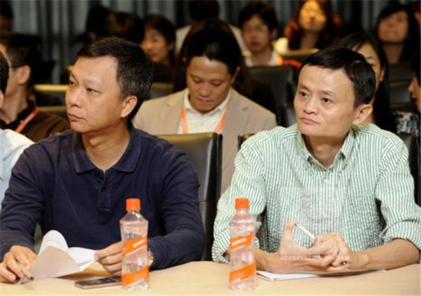 马云和阿里巴巴前CEO陆兆禧