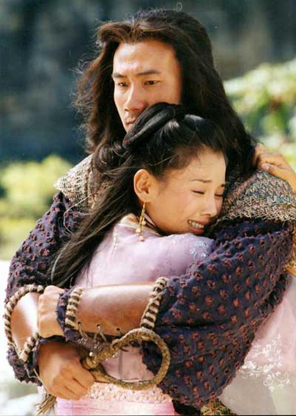 2003年内陆版《天龙八部》中,胡军饰演丐帮帮主乔峰。图片来自收集