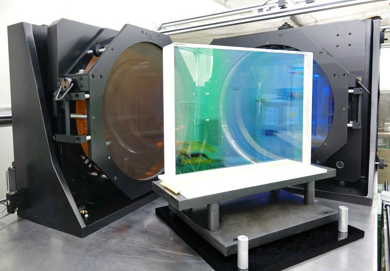 大尺寸激光薄膜反射元件