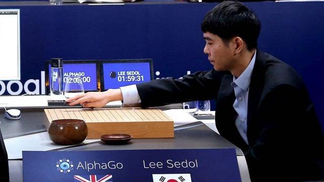 2016年3月,谷歌围棋人工智能AlphaGo战胜韩国棋手李世石