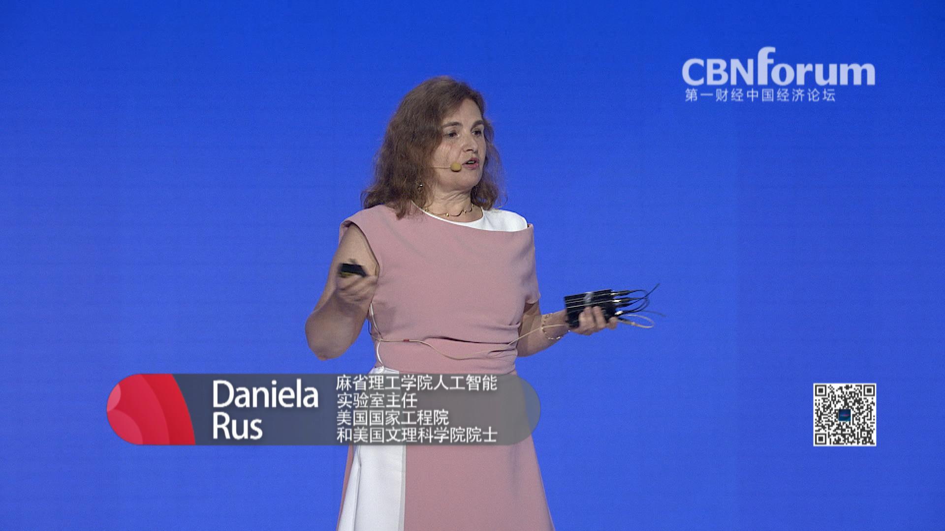 Daniela Rus 麻省理工学院人工智能实验室(CSAIL)主任、美国国家工程院(NAE)和美国文理科学院(AAAS)院士