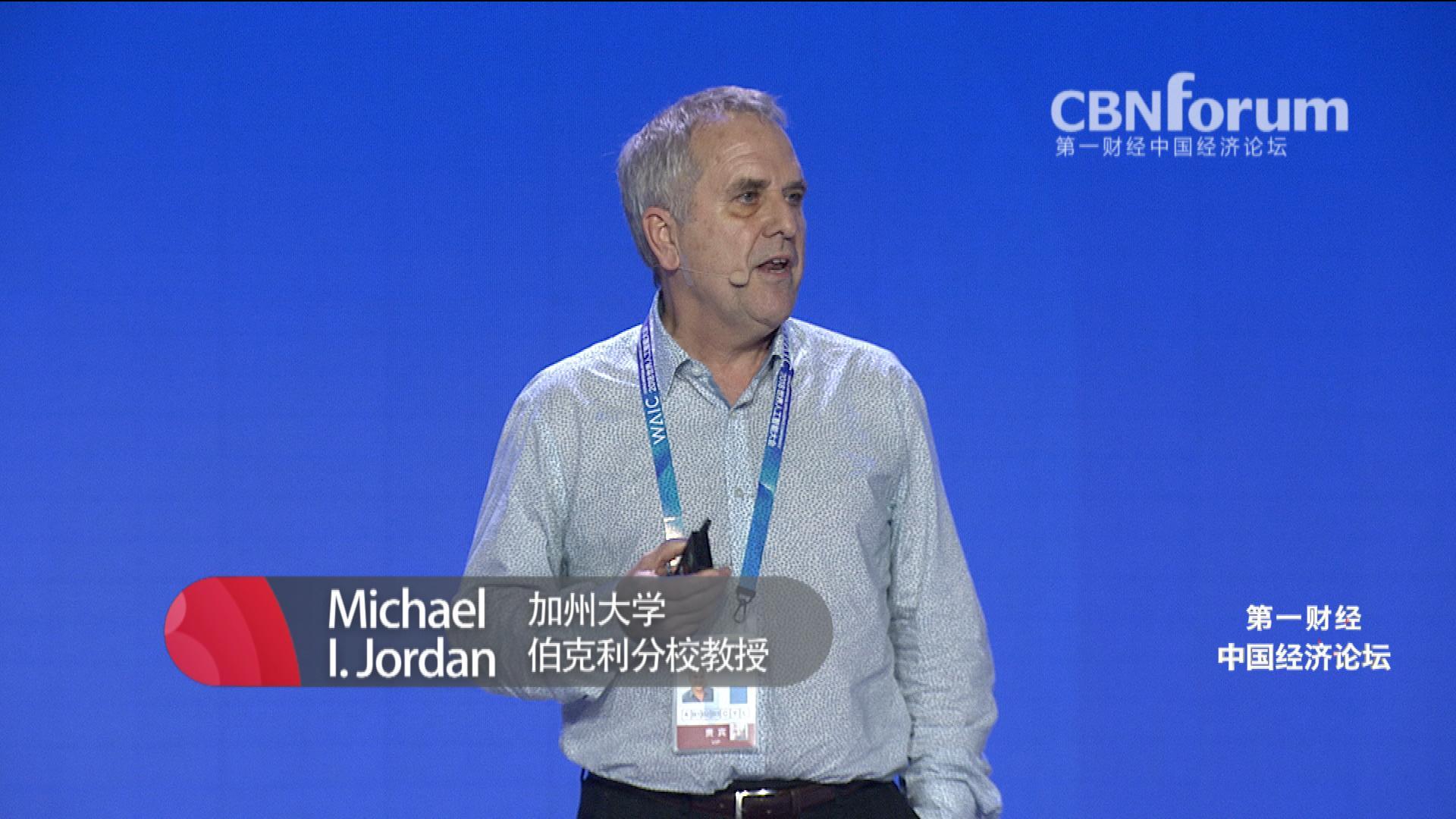 Michael I. Jordan 加州大学伯克利分校教授