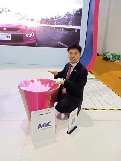 AGC的玻璃大鼓。