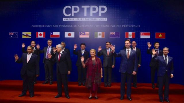 目前CPTPP成员为日本、澳大利亚、文莱、加拿大、智利、马来西亚、墨西哥、新西兰、秘鲁、新加坡和越南。