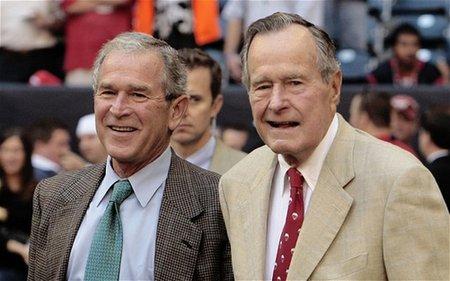 老布什与小布什