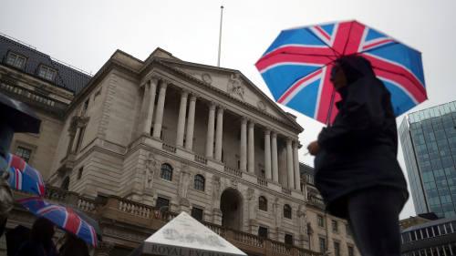 英国央行按兵不动,下调四季度经济增速预期