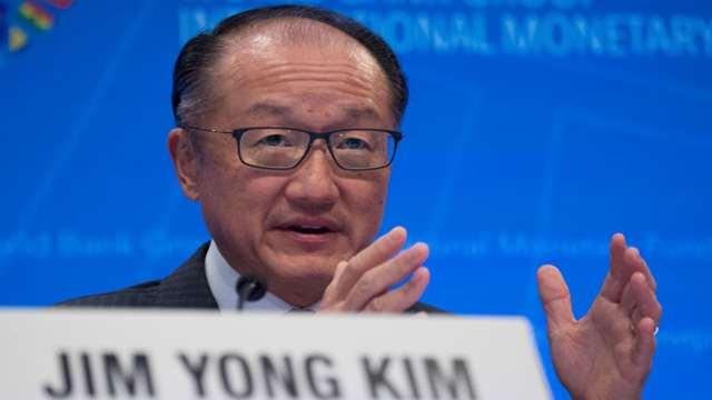 世行行长金墉本周意外宣布辞职。