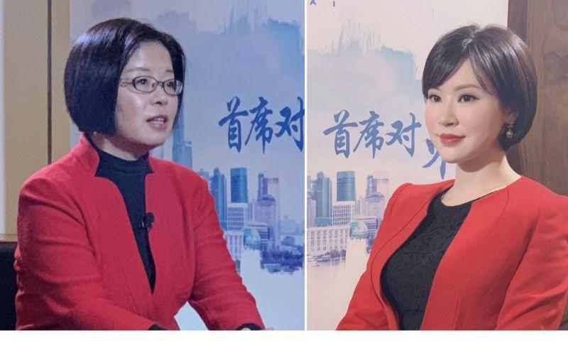 左为本期《首席对策》专访对象:汪涛