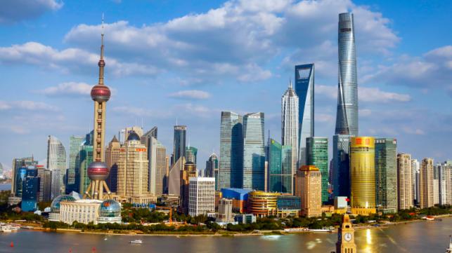 上海陆家嘴(图片来源:第一财经)