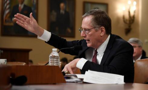 在一场美国参议院有关WTO未来道路的听证会上,向来言辞谨慎的莱特希泽一股脑回答了很多问题。