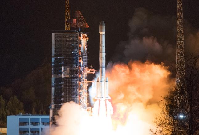 2019年3月10日,我国在西昌卫星发射中心用长征三号乙运载火箭,成功将中星6C卫星发射升空。