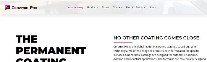 Ceramics PRO官方网站