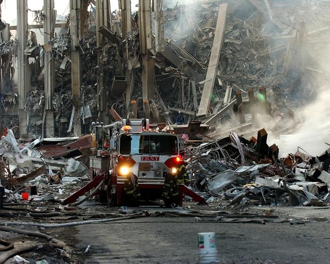 """""""911""""事件是发生在美国本土的最为严重的恐怖攻击行动。图片来自网络"""