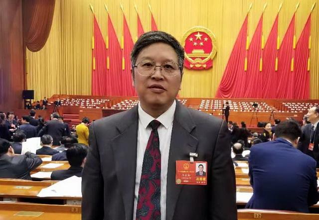 全国人大代表、中国工程院院士、生态环境部环境规划院院长王金南
