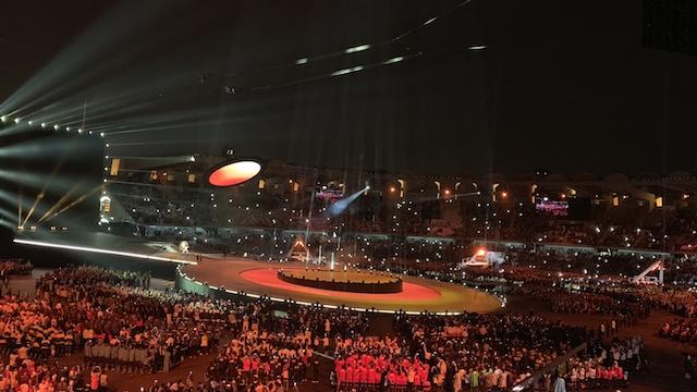 """特殊奥林匹克运动会旨在赋予智障人士更多机会,阿布扎比特奥会以""""力求进步的人""""为主旨。"""
