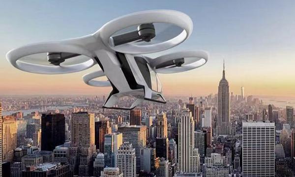 """空客的""""飞的""""模拟图。来源:空客公司"""