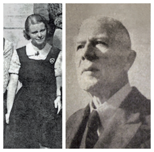 帕梅拉(摄于1936年)和倭讷