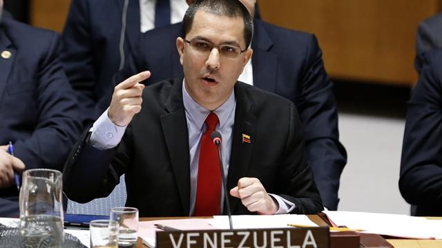 委内瑞拉外交部长阿雷亚萨