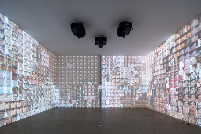 墨西哥艺术家拉斐尔的《识别》。  供图/乌镇当代艺术邀请展