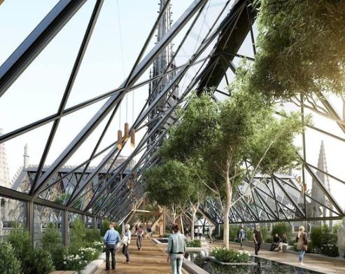 温室屋顶方案 来源:《法国西部报》