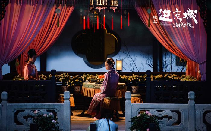 马伊琍饰演的戏迷凤格格,爱听戏,懂评戏,对马敬涵饰演的主角汪润生提出了关键的表演指点