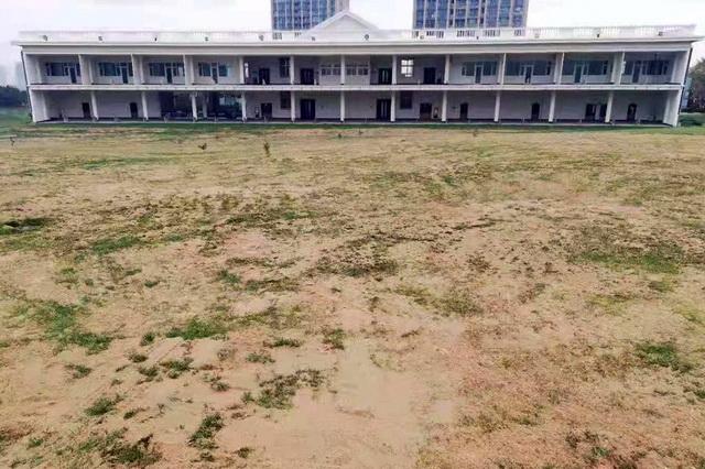 2018年11月6日,马山寨伍思南高尔夫球场相关设施仍未拆除。资料来源:中央环保督察组