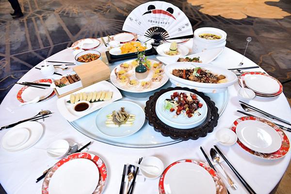 16道川菜为主的天府晚宴