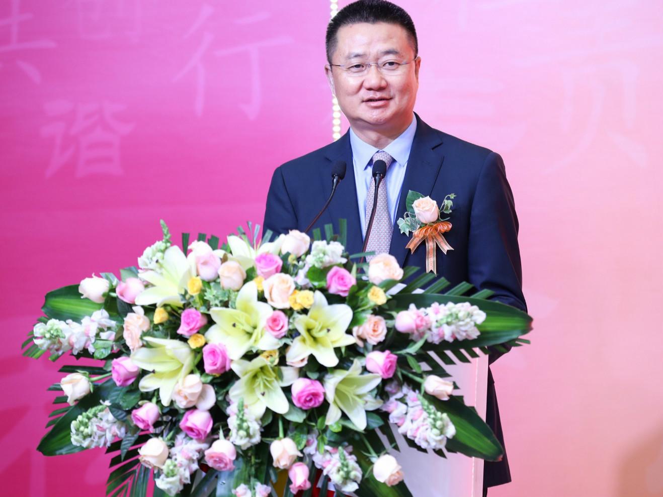 思利及人公益基金会副主席、无限极(中国)有限公司高级副总裁黄健龙