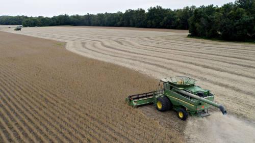 近两年来美国农业面临巨大困难。
