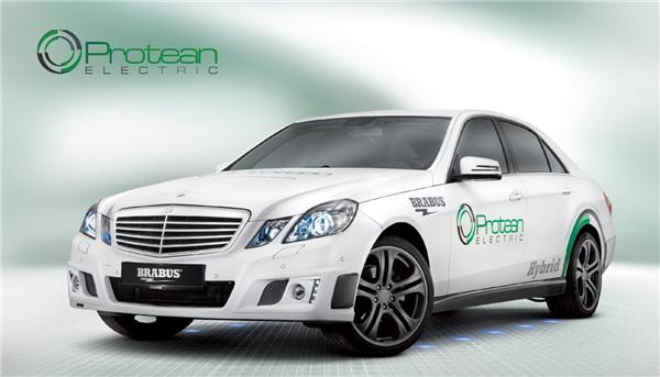Protean轮毂电机应用于奔驰车型