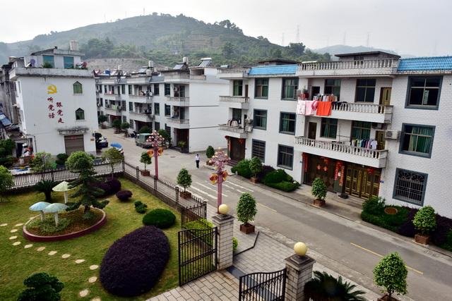 福鼎市硖门畲族乡柏洋村美丽整洁的村貌。摄影/章轲
