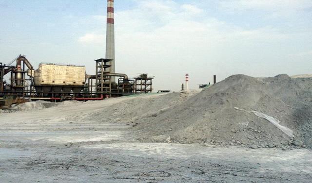 磷矿石堆场防尘措施不到位。资料来源:中央环保督察组