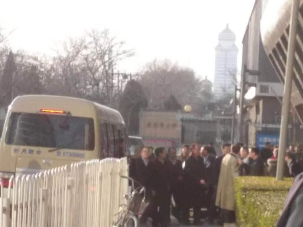 第一财经记者陈洪杰摄于中国供销集团门口/2019年1月26日