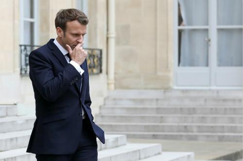 法国总统马克龙率领的前进党在本次选举中遭遇失利