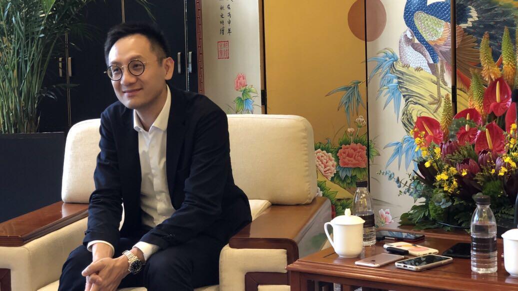 腾讯CSIG总裁汤道生 摄影by刘佳