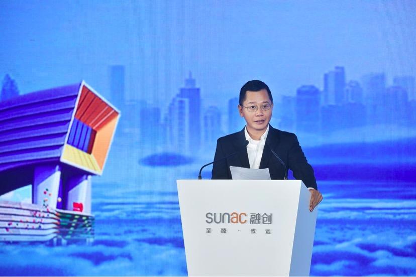 融创中国执走董事、执走总裁兼广深区域公司总裁黄书平